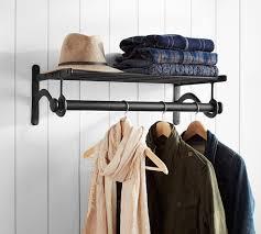 Decorative Clothes Rack Australia by Antique Grey Modular Clothes Rack Pottery Barn Au