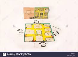 Waddington S Cluedo Board Game Showing Weapons Cards Detective Notes Dice And Box