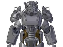 Fallout 4 Power Armor T 60 Pepakura PDO