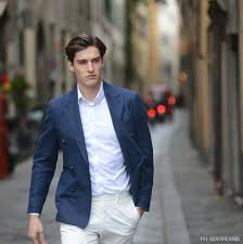 Pants Boglioli Formal Youth Made In Italy Italian Luxury High End European Milan Style White