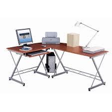 L Shaped Computer Desk by Techni Mobili Rta 2212 M615 L Shape Computer Desk In Mahogany