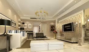 Living Room TV Wall 3D Ideas