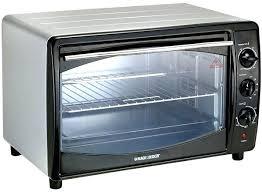 Blue Toaster Oven Black Lifestyle Cobalt