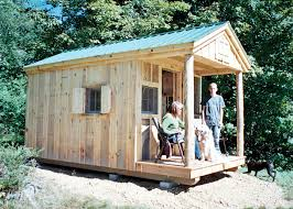 12x12 Shed Plans With Loft by Bunk House