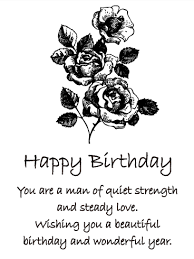 To a Great Man Happy Birthday Card for Him