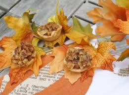 Mini Apple Pecan Pie Low Calorie