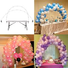 Details About Balloon Arch Frame Table Stand Wedding Birthday Party DIY Balloons Decoration
