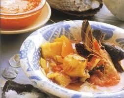 cuisine soupe de poisson soupe de poisson à la sauce rouille recettes de cuisine française