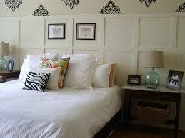 Small Rustic Bedroom Spaces With Queen Bed White Cover Without Headboard And Vintage Nightstand Marble Top Rattan Basket Storage Ideas