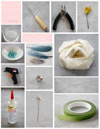 Boutonniere Materials Diy Compressed