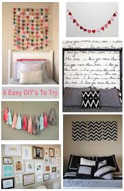 Diy Wall Art Canvas Bedroom Makeover Ideas Projects Tumblr Room Hipster Homemade Decoration For Decor Cheap