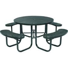 Lifetime Folding Picnic Table Assembly Instructions by Tradewinds Park 46 In Black Commercial Round Picnic Table Hd