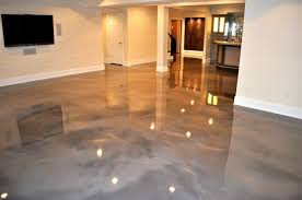 Epoxy Stained Cement Floors