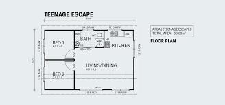 100 3 Bedroom Granny Flat Teenage Escape Two Bedroom Granny Flat Backyard Shacks Ranbuild