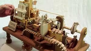 mechanical turing machine in wood youtube