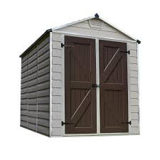 Rubbermaid Slide Lid Shed Manual by Duramax Building Products Woodbridge Plus 10 5 Ft X 8 Ft Vinyl