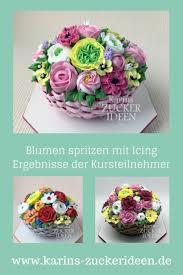 Zuckerblumen Selber Spritzen Anleitung Was Im Kurs Wird Zucker Blumen Mit Icing Spritzen Gelernt Hier