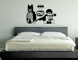 pow batman symbol kf kinder schlafzimmer aufkleber