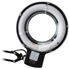 Lighted Magnifying Lamp Floor by Fluorescent Magnifier Lamp