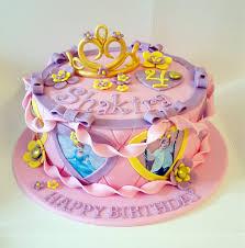 Disney Princess Cake Cakes For Kids Pinterest