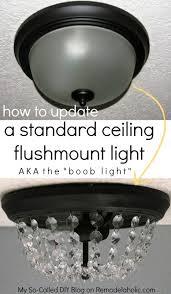 15 wonderful diy ideas to upgrade the kitchen 13 crystal lights