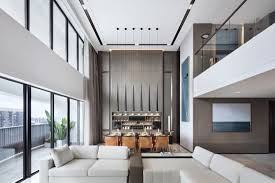 100 Penthouse Duplex A Layered Approach To This Duplex Penthouse In China