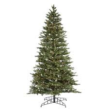 Slim Pre Lit Christmas Trees Canada by Lighted Artificial Christmas Trees 11 13 Ft Christmas Trees