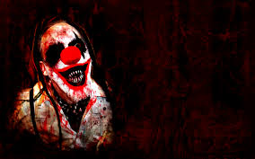 Halloween Scare Pranks by Scary Clown Wallpaper Desktop Background Pic 17 Clowning Around