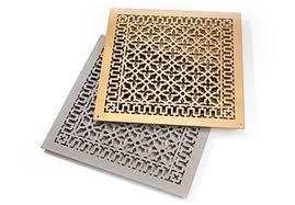 Decorative Air Return Grille by Guides U0026 Ideas Metal Grates Decorative Hvac Registers Reggio