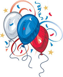 Red White And Blue Birthday Clipart 1