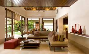 Rustic Balinese Living Rooms With Tropical Air