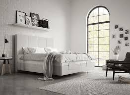 boxspringbett in weiss der schlafzimmer traum superba