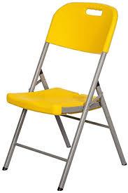 de sackderty klappstuhl klappstuhl gelb gepolstert