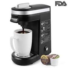 Chulux K Cup Coffee Maker Single Serve Brewerblack Black