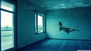 Underwater Room 4K HD Desktop Wallpaper For O Dual Monitor