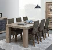 table a manger chêne contemporaine hcommehome