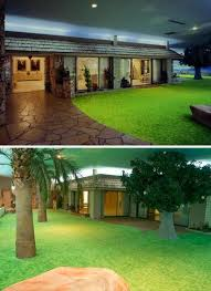 It may look like the 1970 s but this underground bunker home in Las
