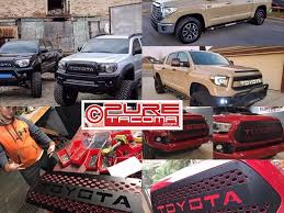 Www.puretacoma.com Home To Best Priced Db Customz Grilles Almost ... Toyota Lexus Performance Specialist Whitehead 2nd Gen 052015 Pure Tacoma Accsories Parts And Buy Parts Toyota Tundra Get Free Shipping On Aliexpresscom New 2017 Chevygmc Duramax L5p Intake Exhaust The Best Of 2018 1999 For Sale 1 Year Warranty Youtube Hilux Revo 15 2016 17 Stainless Pipe Jba Featured Product Tundra 57l 2004 Gmc Sierra Custom Truck Truckin Magazine Awesome Great Led 3rd Third Brake Stop Lamp Light What You Need To Transform A Into Ford Raptor Killer