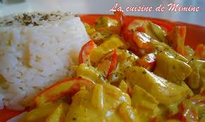 cuisine au lait de coco poulet au curry et lait de coco la cuisine de mimine
