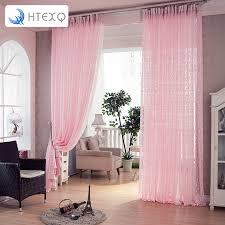 freies verschiffen rosa dekoration vorhänge für wohnzimmer vorhang voile fenster transparent voile gardinen