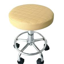 Elastic Chair Seat Covers Round Stool Cover Plaid Bar Slipcover