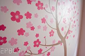 Cherry Blossom Bathroom Decor by Epbot The Cherry Blossom Nursery