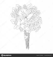 Coloriage Vase Avec Fleurs