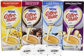Coffee Mate 375 Ounce Liquid Creamer 50 Each Flavor 200 Total