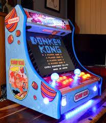 mini arcade machines on twitter custom donkey kong bartop
