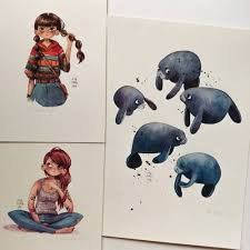 I Made Some New Limited Fine Art Giclee Prints For My Etsy Shop