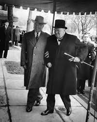 Winston Churchills Iron Curtain Speech by Theredhairing U201charry S Truman With Winston Churchill As He