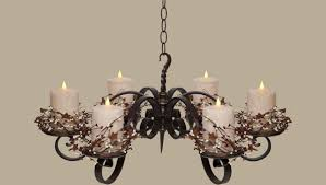 lighting lighting wonderful candle chandelier non electric for