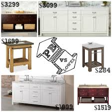 Pottery Barn Vs Lowes Bathroom Vanities   Decor Look Alikes Redecor And More Pottery Barn Lookalike Hutch Fniture Redo Charleston Slipcovered Sofa Decor Look Alikes Articles With Ding Table Tag Pottery Barn Look Alike Bedroom Fniture Furnishing With Sofa Slipcover Satisfactory Sofas Center Pearce Alike Reviews Cabinets Bathroom Vanities Restoration Hdware Imposing Photo Concept Vanity 5 Get The For Less Living Space Dwell Beautiful
