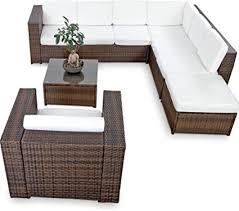 de xinro 22tlg gartenmöbel lounge set günstig